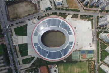 Antalya Arena Elektriği Güneş Panelleriyle Üretecek